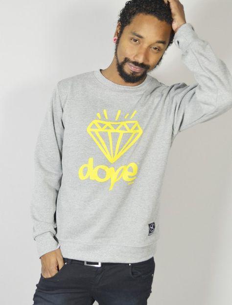 ec2208f826cf1 Compra online sudadera sin capucha con estampado Dope diamond ...