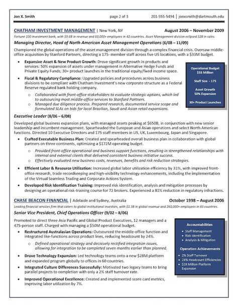 16 best CV Templates images on Pinterest Cv template, Resume - senior executive resume examples