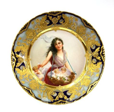 6000: Royal Vienna Cabinet Plate : Lot 6000
