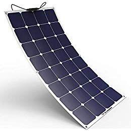Amazon Com Windynation 100w 100 Watt 12v Bendable Flexible Thin Lightweight Solar Panel Battery In 2020 Flexible Solar Panels Solar Panels For Home Best Solar Panels
