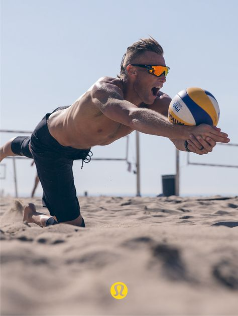 After a disappointing loss in 2012 and the end of his team with his then on-court partner, pro beach volleyball player Jake Gibb wasn't sure his heart was still in the game. Then he met Casey Patterson.