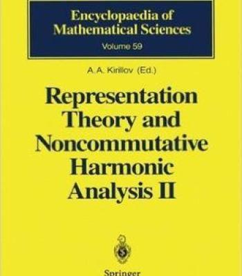 Representation Theory And Noncommutative Harmonic Analysis Ii Pdf Analysis Theories Mathematics
