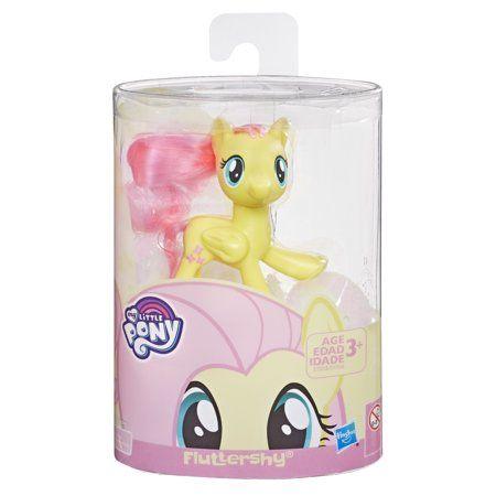 My Little Pony Mane Pony Fluttershy Classic Figure Walmart Com My Little Pony My Little Pony Collection Fluttershy