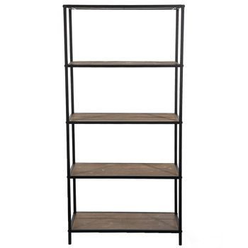Black Metal Five Tiered Baker S Rack Bakers Rack Black Metal Metal