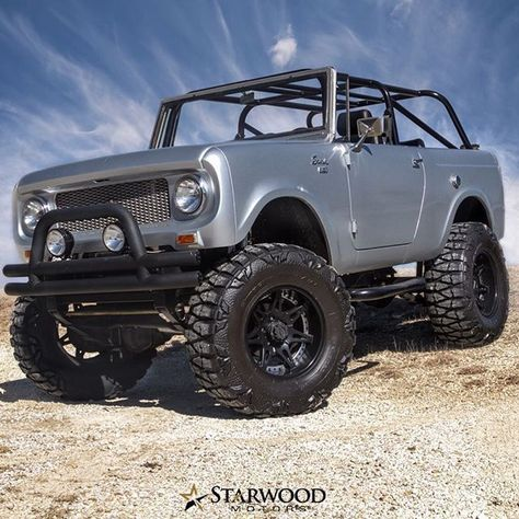 This is a photo album with pictures of International Scout classic trucks The International Scout is rapidly becoming more and . International Scout Ii, International Harvester Truck, Chevy Trucks, Pickup Trucks, Lifted Chevy, Toyota Trucks, Lifted Trucks, Internacional Scout, Classic Trucks