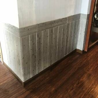 5 X 46 5 Reclaimed Peel And Stick Solid Wood Wall Paneling In 2021 Vinyl Wall Panels Wood Panel Walls Wall Paneling