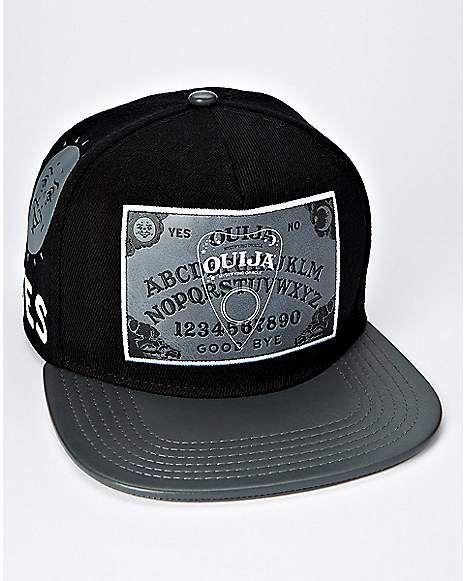 f8549e2175632 Ouija Board Snapback Hat - Hasbro - Spencer's   Hats & Beanies ...