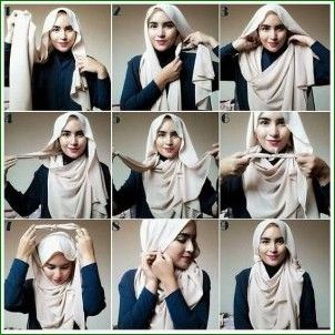 Tutorial Hijab Pashmina Syari Simple Hijab Tutorial Hijab Fashion Pashmina Hijab Tutorial