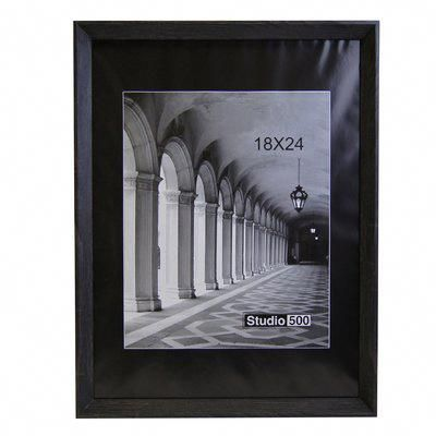Studio 500 Rustic Genuine Picture Frame Color Matte Black Size 17 X 11 Moderncontemporaryde Picture Frame Gallery Picture Frame Colors Picture Frame Sets