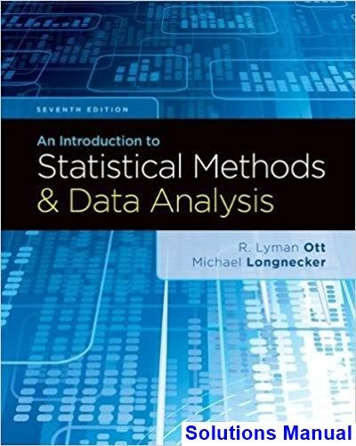 Introduction To Statistical Methods And Data Analysis 7th Edition Ott Solutions Manual Digital Deal Promotion 2021 Statistical Methods Data Analysis Statistical