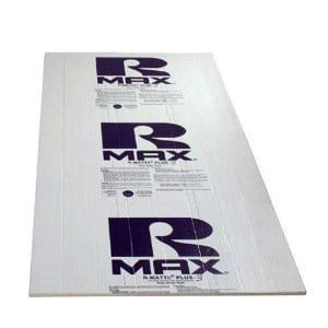 Thermasheath Rmax Thermasheath 3 1 In X 4 Ft X 8 Ft R 6 Polyisocyanurate Rigid Foam Insulation Board 787264
