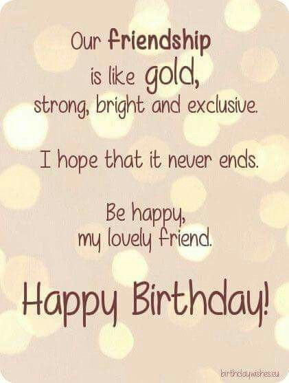 Admirable Our Friendship Happy Birthday Wishes Quotes Happy Birthday Personalised Birthday Cards Beptaeletsinfo