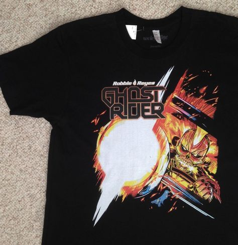 NEW Adult (L) Marvel Comic ROBBIE REYES GHOST RIDER T SHIRT