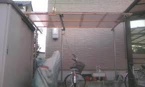 単管パイプを使った自転車置き の画像検索結果 単管パイプ 外構 パイプ