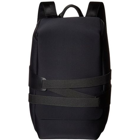 adidas Y-3 by Yohji Yamamoto Y-3 Qasa Tech (Black) Backpack Bags (€295) ❤  liked on Polyvore featuring bags 73302488833f6