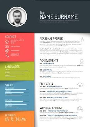 Image Result For Creative Resume Template Free Download Desain