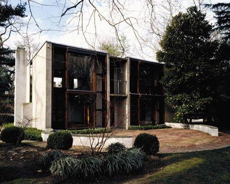 Esherick House, Philadelphia, Pennsylvania, by Louis I. Kahn
