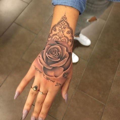 Female Tattoo Tattoos Hand Tattoos Hand Tattoos For Women
