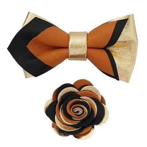 Pin em gravata borboleta