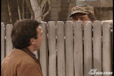 Guy Behind The Fence In Home Improvement - YouTube
