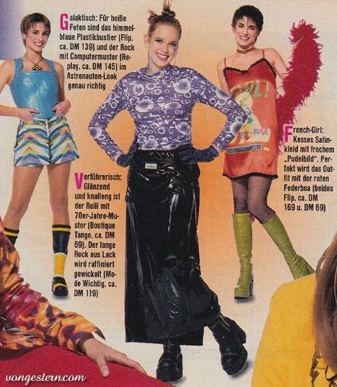 Bravo 1997 The outfit in the middle(minus the gloves maybe)
