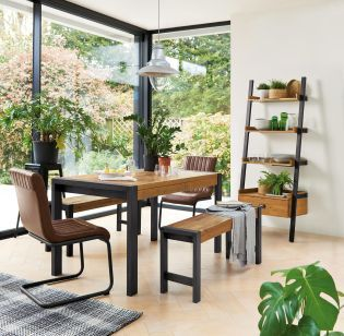 Buy Hudson Dining Table And Bench Set From The Next Uk Online Shop