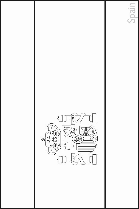 Spain Flag Coloring Page Unique Colouring Book Of Flags Southern Europe In 2020 Flag Coloring Pages Stitch Coloring Pages Coloring Pages