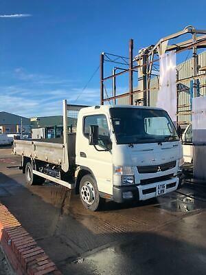 2016 16 Mitsubishi Canter 7500kg Euro6 Tipper Truck Alloy Double Dropside Body Trucks Sale Uk In 2020 Mitsubishi Canter Trucks Tipper Truck