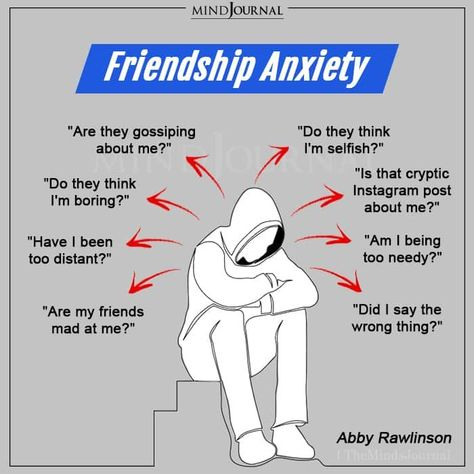 Do you deal with such thoughts? Comment below and let us know. #friends #mentalhealth