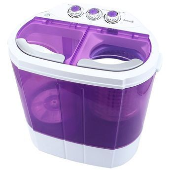 Kuppet Mini 9lbs Portable Washing Machine Spin Dryer Compact