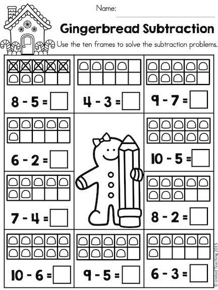 Valentine\'s Day Kindergarten Math Worksheets | Kindergarten math ...