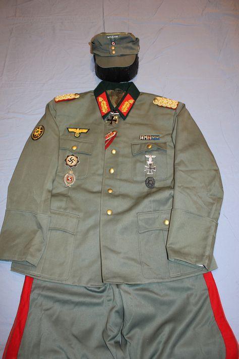 Gebirg. General Feldgrau Tunic