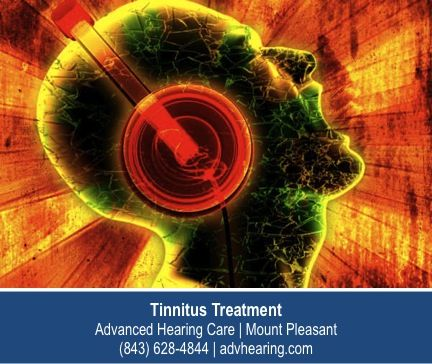http://advhearing.com – People with tinnitus in Mount Pleasant live in a world where there is no silence just a constant barrage of noise coming from nowhere.  There are therapies and treatments available to reduce the ringing and its interference with your life. Contact the experts at Advanced Hearing Care for an initial assessment.