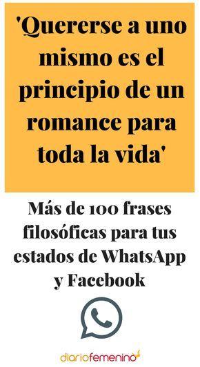 Más De 100 Frases Filosóficas Para Tus Estados De Whatsapp Y