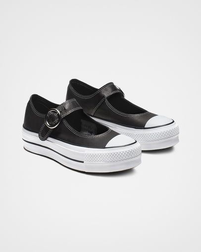 Converse Chuck Taylor All Star Mary Jane Low Top Schwarz