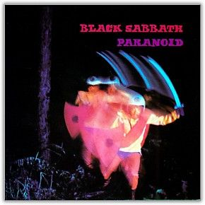 Black Sabbath Paranoid Album Heavy Metal Rock Band Music POSTER wall art