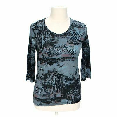 (Advertisement)eBay- Carla B. Women's Trendy Shirt size XL, blue/navy, elastane, viscose