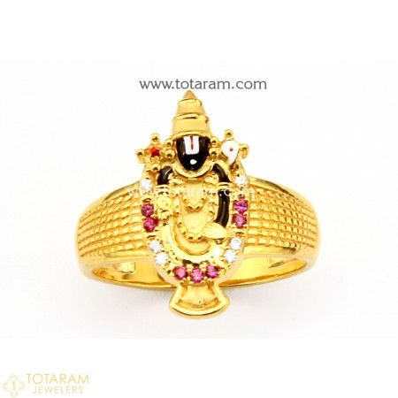dbbdbe91b 22K Gold 'Balaji' Ring For Men with Cz - 235-GR4380 - Buy this Latest  Indian Gold Jewelry Design in 8.550 Grams for a low price of $545.10