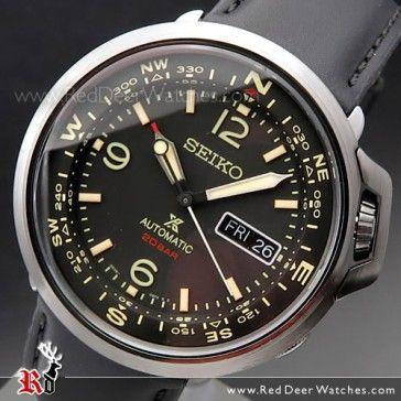Seiko PROSPEX Field Automatic Leather Watch SRPD35K1, SRPD35