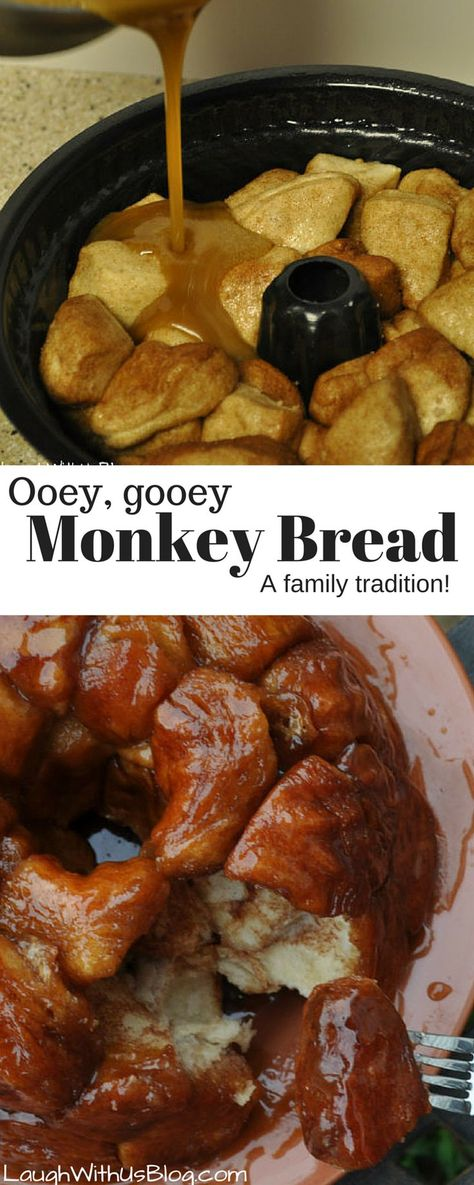 The BEST Monkey Bread made oh so easy with Pillsbury Grands! The ooey gooey caramel is amazing! AD