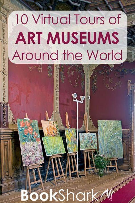 10 Virtual Tours of Art Museums Around the World, art history, art appreciation High School Art, Middle School Art, Virtual Art, Virtual Tour, Virtual Travel, Virtual Class, Virtual Reality, Mark Making, Op Art