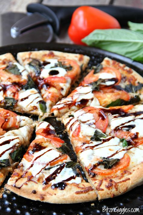 100 Vegetarian Game Day Recipes Caprese Pizza Sweet Pizza