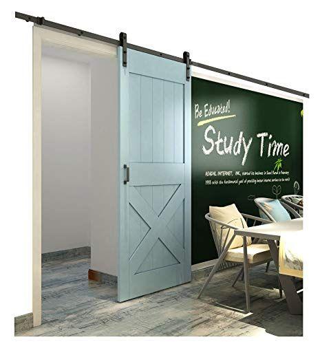 Diyhd 10ft Rustic Black Sliding Barn Door Hardware For Wi Https Www Amazon Com Dp B016svq7h4 Ref Cm Sw R Pi Dp U X Obde Garage Door Design Barn Door Doors