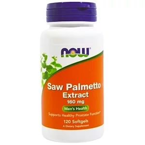 Now Foods Saw Palmetto Extract 160 Mg 120ソフトジェル 건강식품 건강 건강한