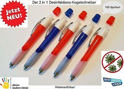 Details Zu 5 Stuck Der 2 In 1 Desinfektion Spruh Kugelschreiber