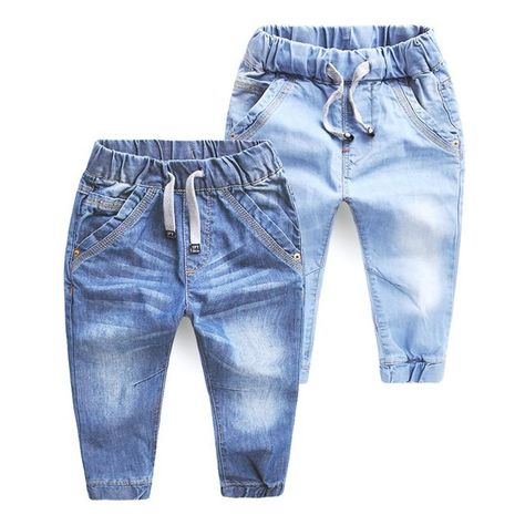 3922 kids jeans boys jeans blue casual pants trousers denim pants