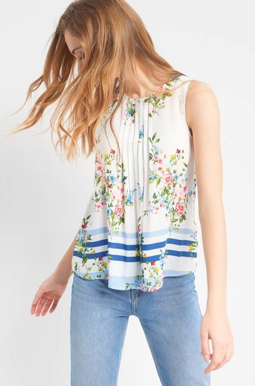 Blusentop Mit Muster Mix Fashion Floral Tops Tops