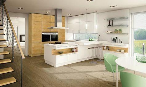 Moderne Küchen von ewe Ewe küchen, weiße Küchen und Küche - vergilbte k chenfronten reinigen