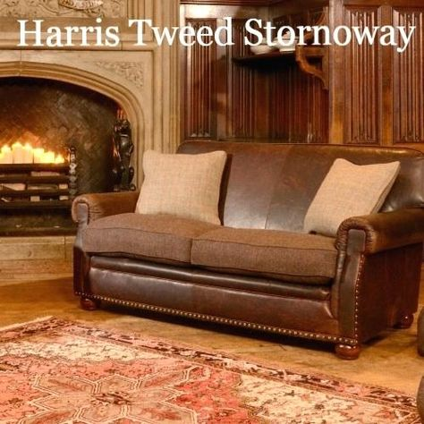 Fresh Leather And Fabric Sofas Or Tweed Sofa Comes In A Range Of
