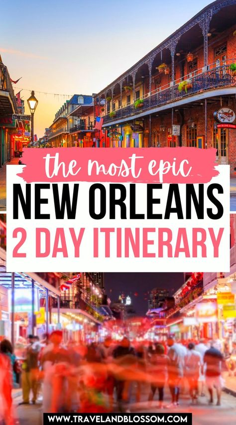 New Orleans in 2 Days: Disney Edition